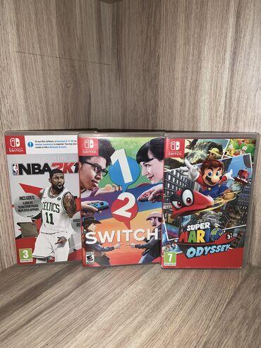 Продаю картриджи на Nintendo Switch (Original) Куплены в Польше. Стоим