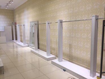 Подставка для верхней одеждыМДФ АКРИЛ, высота 170см,ширина 220смМебель