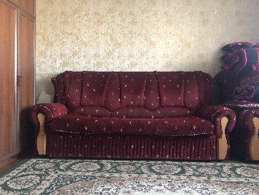 раскладной диван с двумя креслами в Кыргызстан: Продаю Итальянскую Мягкую Мебель с двумя креслами. Раскладной превраща