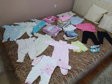 Zneske pantalone legend - Srbija: Na prodaju veliki paket (46 komada +pampers 5 (14 komada) dečije odeće