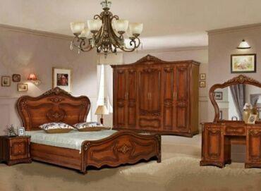 Спальный гарнитур в отличном состоянии. 5 предметов: две тумбочки