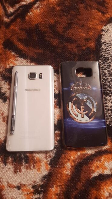 Telefonlar samsung - Azərbaycan: İşlənmiş Samsung Galaxy Note 5 32 GB ağ