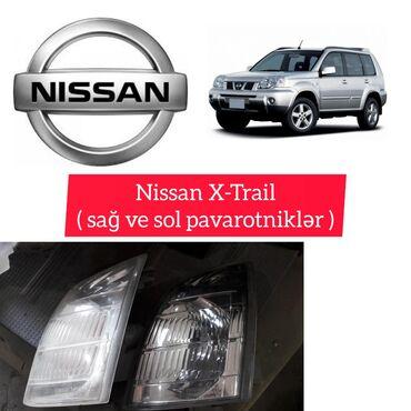 Nissan X-Trail sağ və sol pavortnik----- Kia Sorento ucun istediyiniz