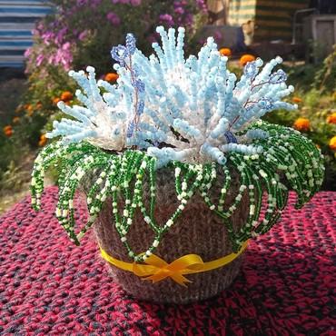 цветы живопись в Кыргызстан: Плету на продажу цветы и деревья из бисера. порадуйте учителей ко дню