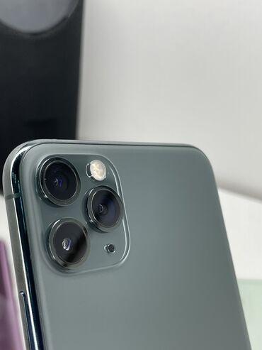 смартфоны в рассрочку бишкек in Кыргызстан | SAMSUNG: IPhone 11 Pro | 64 ГБ | Зеленый Б/У | Беспроводная зарядка, Face ID