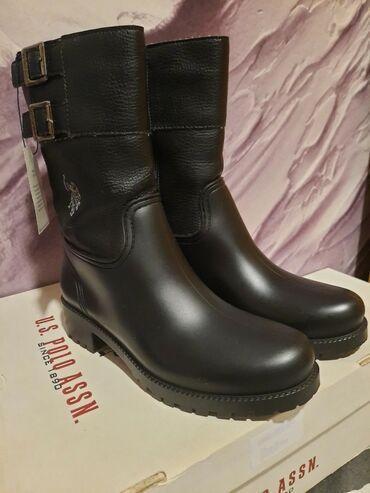 U.S. POLO - najlepše kišne čizme ikada! Dužina gazišta je 24,5. Donji