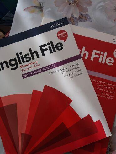 english courses в Кыргызстан: Продаю книгу ENGLISH FILE elementary