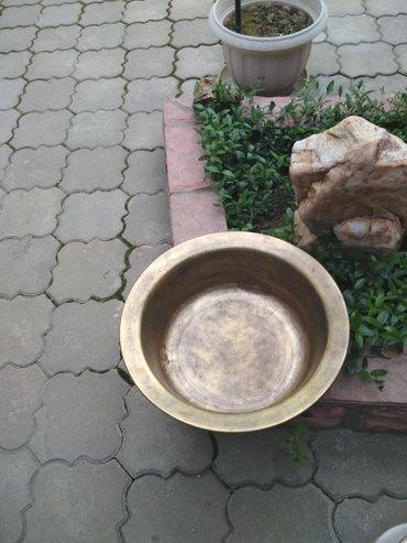Таз медный  Советских  времёнв отличном  состоянии цена 4000сом в Бишкек
