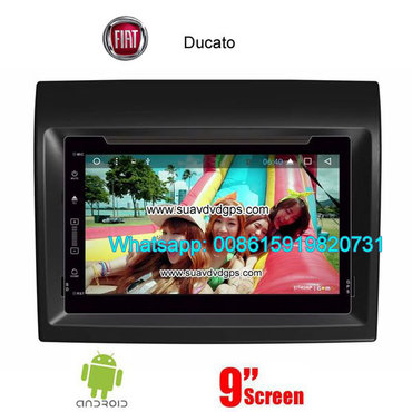 Fiat Ducato Car audio radio update android GPS navigation camera