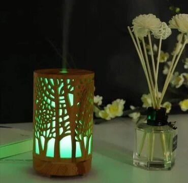 Difuzer - osveživač vazduha sa aromaterapijomKapacitet: 100 mlTežina