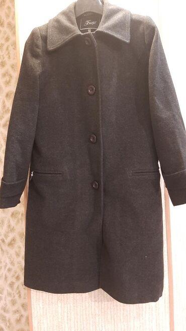 Пальто женское, зимнее б/у(ТУРЦИЯ),размер 48,длина 90см