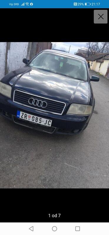 Audi coupe 2 16 - Srbija: Audi A6 2.5 l. 2002 | 186240 km