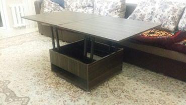 Продаю стол трансформер находится в 4 мкр размер стола 80×80. А в