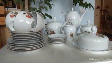 Чайный сервиз на 6 персон, 28 предметов. Германия в Бишкек
