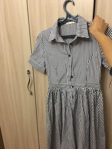 летнее платье свободного кроя в Кыргызстан: Летнее лёгкое платье татьянка, носила один раз