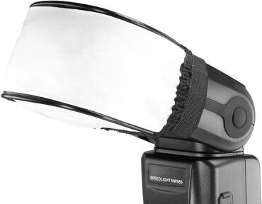 Flash Softbox parça diffuser Canon Nikon