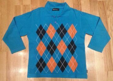 Majica na kragnu - Srbija: Waikiki dux majica dugih rukava sa kragnicom na rombove - sa