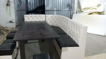 Комплекты столов и стульев - Кыргызстан: Кухонный уголок на заказ