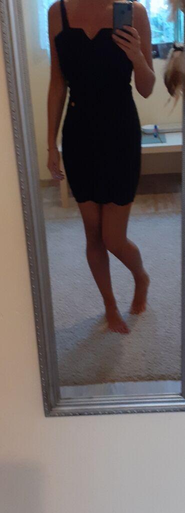 Sabra haljina crna . Jednom obucena