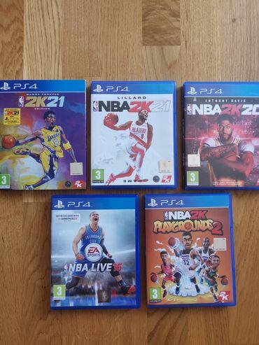 NBA PS4 igrice!
