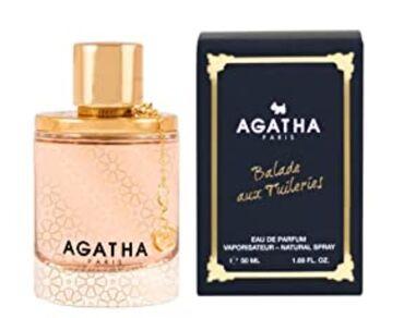 """AGATHA """"Balade aux Tuileries """" 50ml eau de parfum Paris"""