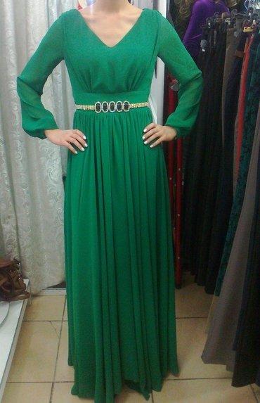 турецкое платье шифон в Кыргызстан: Красивое шифоновое платье впол, в отличном состоянии, размер 38 или 42