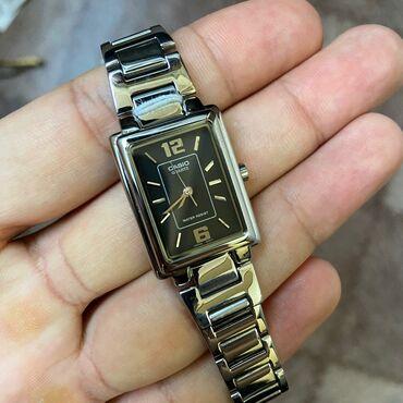 new-часы в Кыргызстан: Серебристые Женские Наручные часы Casio