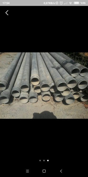 Qax şəhərində Boru 1m 15 manata 160 mm lik