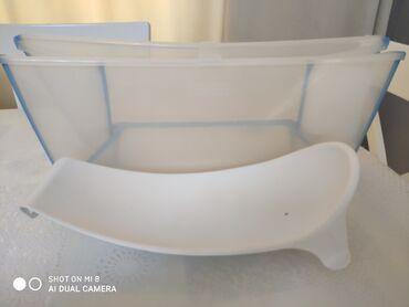 ванночки стульчики для купания в Азербайджан: Складная ванночка для детей до 12 месяцев