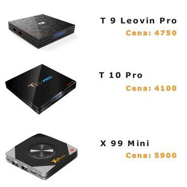 Smart tv box, android box uređaji, smart tvViše modela smart tv box