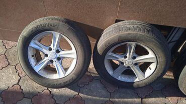Срочно срочно продаю диск шиной казан на Хонда степ размер r15