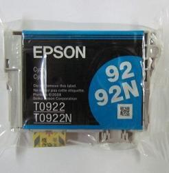 оригинальные расходные материалы klema в Кыргызстан: Epson T0922 Cyan оригинальный картридж Бренд: EpsonТип картриджа
