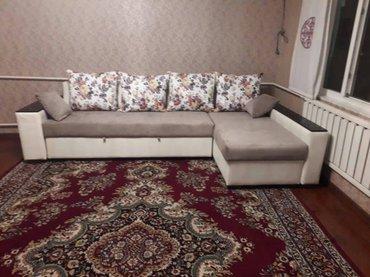 угловая кухонная мягкая мебель в Кыргызстан: Угловой диван ▪На заказ▪Цвета ткани на выбор▪Российский поролон и