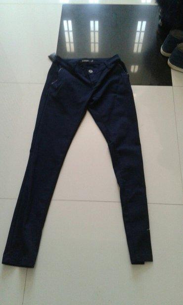 Pantalone teget uske velicina xs s m novo super materijal za sve - Backa Palanka
