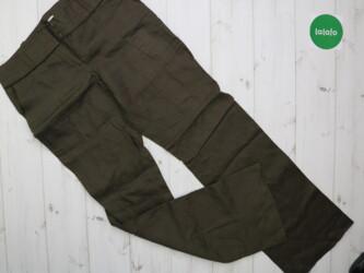 Женские брюки Promod    Длина штанины: 102 см Шаг: около 77 см Пояс: 4