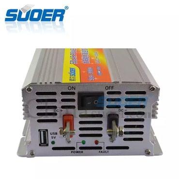 Kürdəmir şəhərində Inverter 12 voltu 220 volta cevrici invertor temiz solar zavodunun