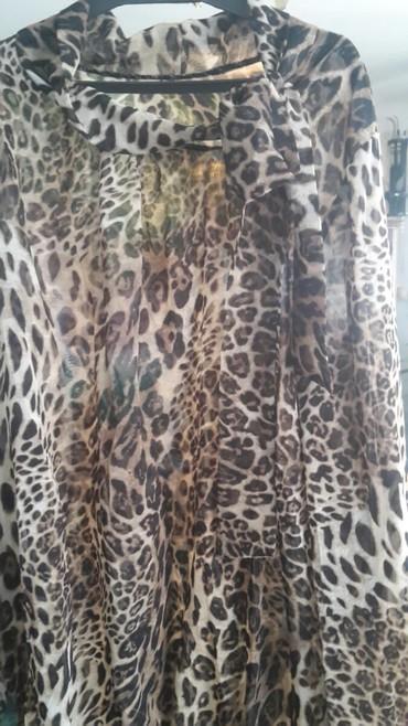 Elegantna tigrasta kosulja vezuje se sa strane novo - Nis - slika 3