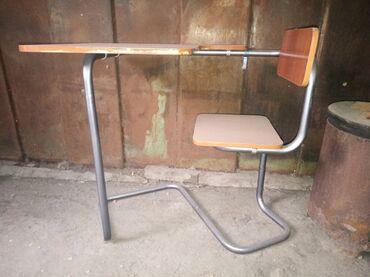 письменный стол для школьника в Кыргызстан: Комплект стол и стулья   Письменный, школьный   на 1-3 персон