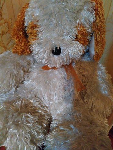 Мягкая игрушка. собачка . высотой почти метр в Кант
