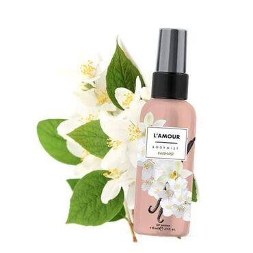 L'AMOUR Mirisne kapljice za telo115 mlRomanticni miris kombinuje