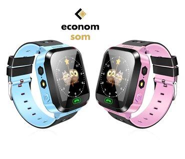 gps навигатор для туризма в Кыргызстан: Детские наручные часы Smart M05 - модель детских умных часов с камерой