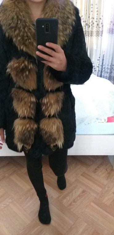 Продаётся шуба,кролик,воротник енот в в Бишкек
