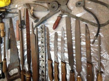 Ножи напильники листайте от 50 сом и выше в Бишкек