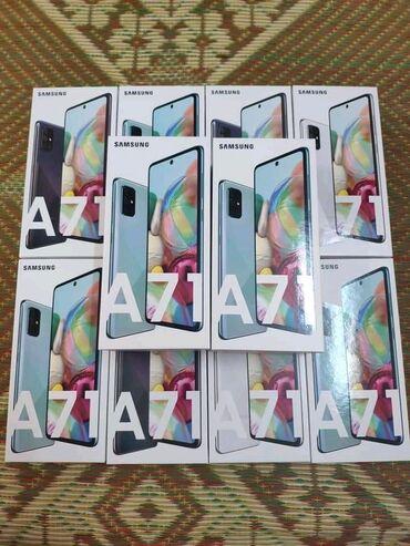 Samsung A71 6/128GBYeni ✓Qeydiyyatlı ✓1 il zəmanət ✓Çatdırılma