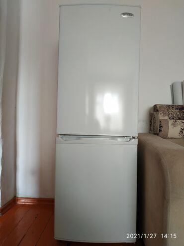 Продам белый двухкамерный холодильник EuroluxРазмеры 150 на 50Б/у в