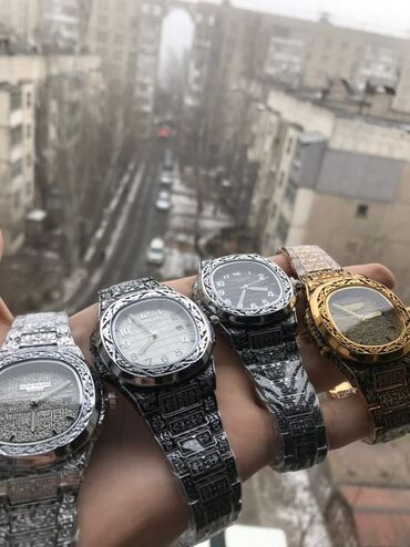 Стильные шляпы - Кыргызстан: Часы patek Philippe очень качественные и стильные часы на самый разный