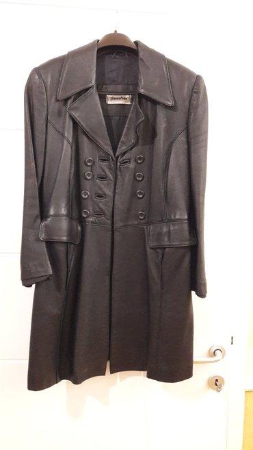 Kozna crna jakna velicina 40 u izuzetnom dobro stanju kao nova marka - Vranje