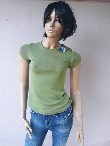 Personalni proizvodi | Prokuplje: Pamucna majica sa elastinom Velicina SVeliki izbor markirane garderobe