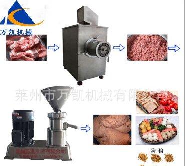 Кухонное оборудование. Колодильная мельница для костей. 380V,7.5 kw