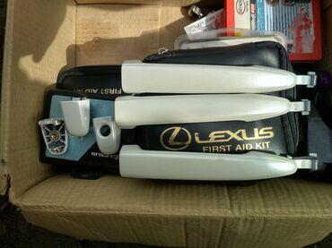 Аксессуары для авто в Токмак: Продам на Лексус GX-470. Ручки дверные цвет белый жемчуг-2000 сом
